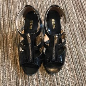 Michael Kors black heels 7.5